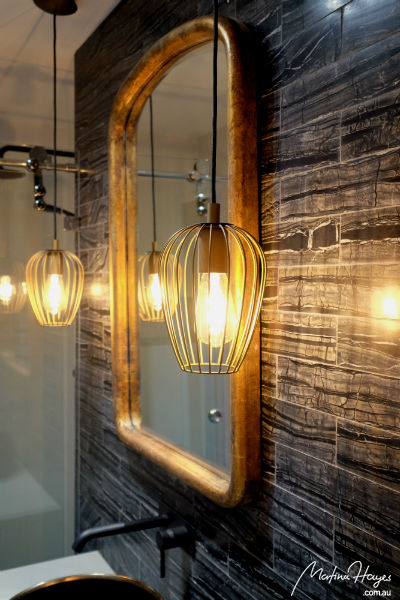 ensuite bathroom mirror pendant lights