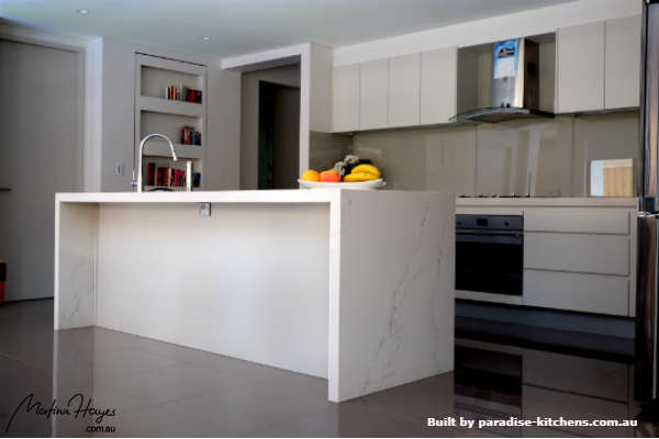 Complete modern kitchen re-design and renovation.