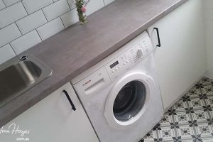 Laundry design with character in Manly