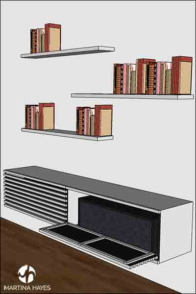 Media-Unit-Bespoke-Custom-Made-Furniture-Design-Drawing-Sydney