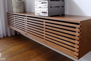 Custom made furniture design | media unit