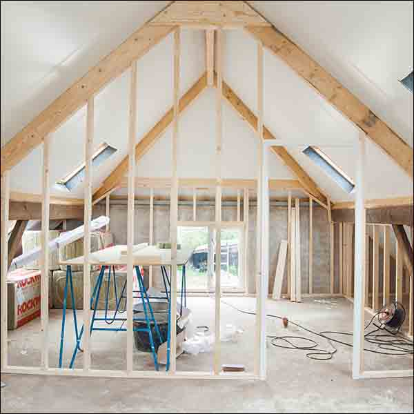 Renovation Sydney house attic