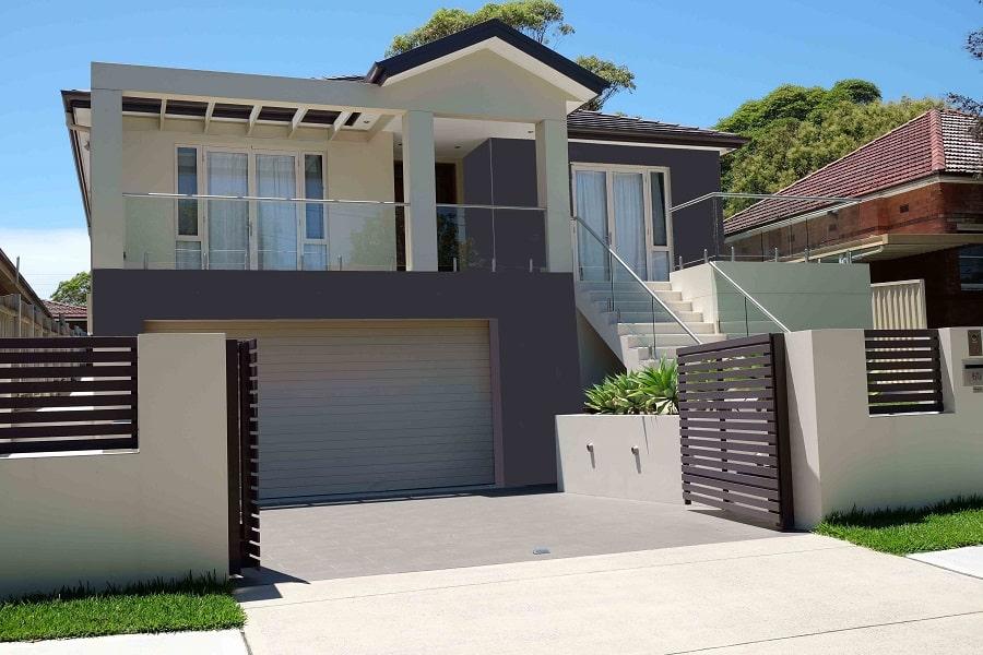 colour consulting house facade